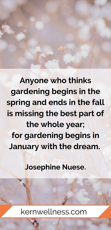 january garden quote