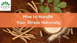 How To Handle Your Stress Naturally