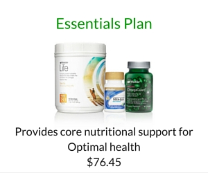 Order Shaklee Essentials Plan