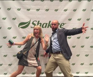 Dan and Cortney Kern Showing our Shaklee love!