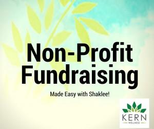 shaklee non-profit fundraising