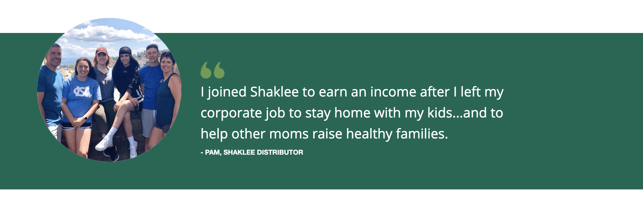 shaklee distributor benefits