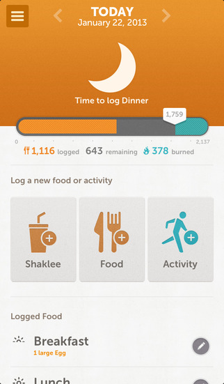 Shaklee 180 Weight Loss Mobile App