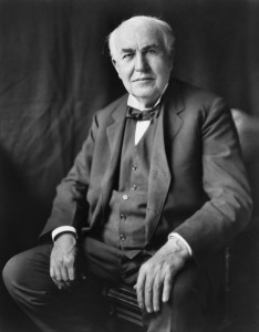 Thomas Edison, photo: Wikipedia